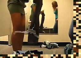 teen dressing room hidden cam